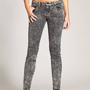 Guess Jeans Britney Studded Mid Rise Skinny Jean